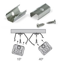 Angle Mounting Clips For Diva Range - DIVA-4015CLIP