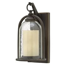 Quincy Small Wall Lantern Oil Rubbed Bronze - HK/QUINCY/S