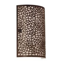 Almera Wall Light Antique Brown - 89115
