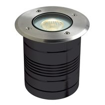 MODULA-ROUND 24V 9W LED Inground Light - Aluminium Finish / Warm White LED