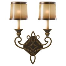 Justine Wall Light Astral Bronze - FE/JUSTINE2/B