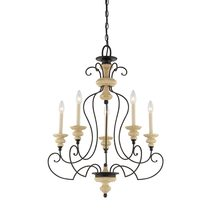 Shelby 5 Light Chandelier