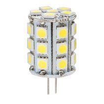 High Output 5 Watt 12V G4 Bi Pin LED Globe / Cool White - HV9523-5W