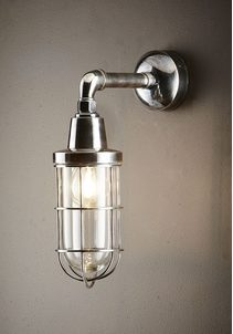 Starboard 1 Light Wall Lamp Antique Silver - ELPIM51046AS