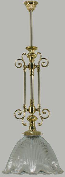 Avoca 1 Light Pendant (PB) & Traditional Pendants | Buy Traditional Pendant Lights | Online ...