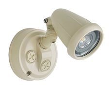 Titan Single Head 6W LED Spotlight - Beige Finish / Cool White