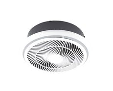 Helix Bathroom Exhaust Fan Round White - BE3100TPWH