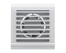 Shutter Wall Exhaust Fan White - BWE231WH