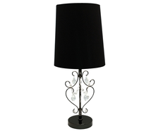 Philipa Table Lamp Black - TL11008B