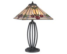 Ruby Table Lamp Vintage Black - QZ/RUBY/TL