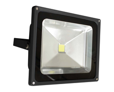 LED 50W Weatherproof Floodlight Black - FL50B
