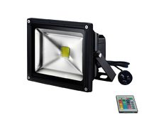 Black 30W High Output RGB LED Flood Light - 240V LED - CLA323630R