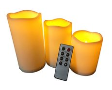 Ambient Replica Candle Shape LED Decorative Light - FLAMEPLASK1