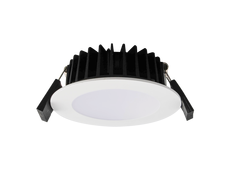 Ecogem 10W LED Dimmable Downlight White / Tri-Colour - S9041 TC WH