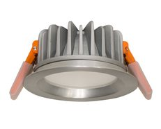 Bruno 13W Dimmable LED Downlight Brushed Aluminium / Daylight - 200638