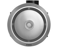 Gyro Bathroom Exhaust Fan with Light / Silver - MXFLG25S