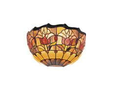 Red Tulip Tiffany Wall Lamp - TL-235/WL