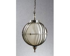 Rodan 1 Light Pendant Antique Silver - ELPIM51177AS