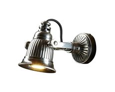 Caledonia 1 Light Wall Lamp Silver - ELPIM51386AS