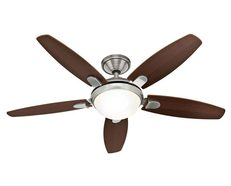 "Contempo 52"" AC Ceiling Fan Brushed Nickel - 50612"