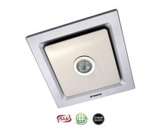 Tetra Silver Exhaust Fan With LED Light - MXFLT25S
