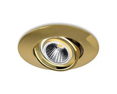 Fire Rated 8W LED Downlight 60 Minutes Gold / Warm White - LDLB90-FIRE60-GD