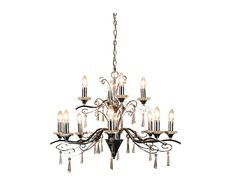 Diaz 12 Light Crystal Pendant Chrome - OL68999/12CH