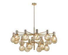 Escoda 18 Light Chandelier Gold - ESCODA PE18-GD