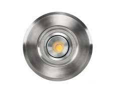 Luta 3W 12V DC Adjustable LED Inground Uplighter 316 Stainless Steel / Warm White - HV1827W
