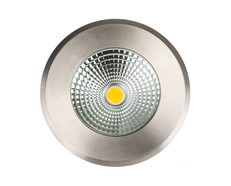 Klip 10W 12V DC LED Inground Uplighter 316 Stainless Steel / Warm White - HV1832W-12V DC
