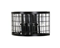 Delaware Twin Wall Light Matt Black - SL64310BK