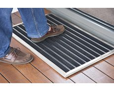 Door Mat Brushed Stainless Finish