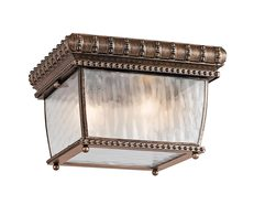 Venetian Rain Flush Mount Brushed Bronze - KL/VENETIAN/F