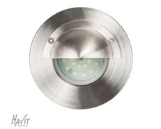 316 Stainless Steel Recessed Eyelid/Step Light - 12V LED - HV1901C