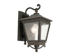 Nottingham Exterior Wall Light - Bronze