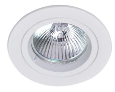 Fixed 240V GU10 Downlight White - DLM21