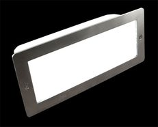 Stainless Steel Bricklight LED 12V - White
