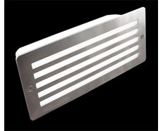 Stainless Steel Grille Bricklight LED 12V - White