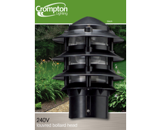 Ex2000 Bollard Head - Black