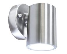 LED 3W Fixed Exterior Wall Light Stainless Steel - Raglan