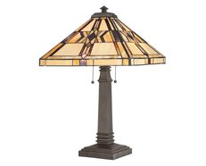 Finton Table Lamp Vintage Bronze - QZ/FINTON/TL