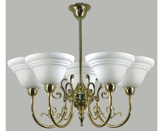 Hotham 5 Light Chandelier (PB)