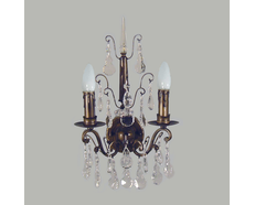 Queen Victoria 2 Light Wall Light (AB)