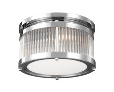 Paulson 10.5W LED Flush Mount Polished Chrome / Warm White - FE/PAULSON/F/S