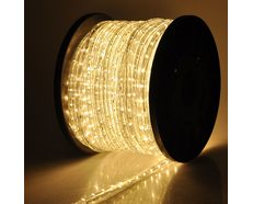 Flexible 100M Waterproof LED Strip Light Warm White - AL4758/100