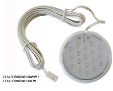 12V DC Under Bench LED Utility Light 50,000hrs Dimmable