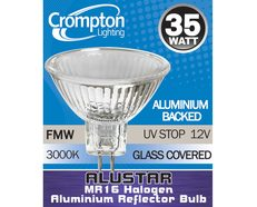 Halogen Low Voltage MR16 35W 35° ALUSTAR Lamp