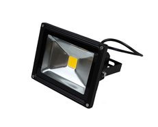 Black 10W High Output LED Flood Light - 12V DC LED - CLA3212V10C