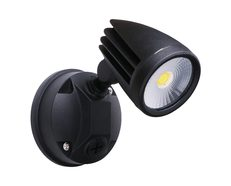 Fortress II 15W LED Single Exterior Security Light Matt Black / Tri-Colour - MLXF3451M