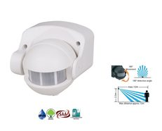 Iris White Security Sensor - MSI1000W